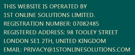 Website operated by 1st Online Solutions Ltd.